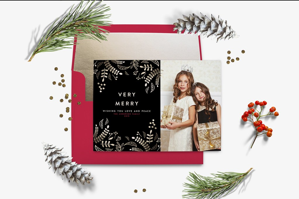 Christmas Cards 2015 | blush printables | Flickr