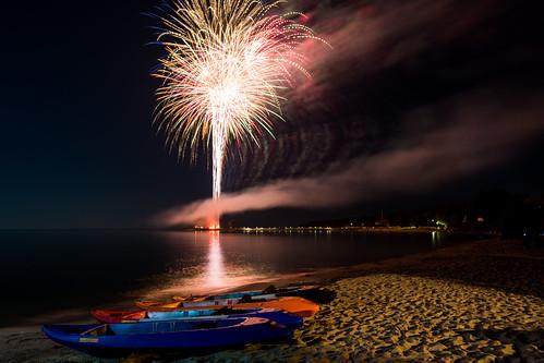 door county fireworks