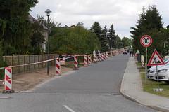 Treckerrundfahrt auf der Köpenicker Straße