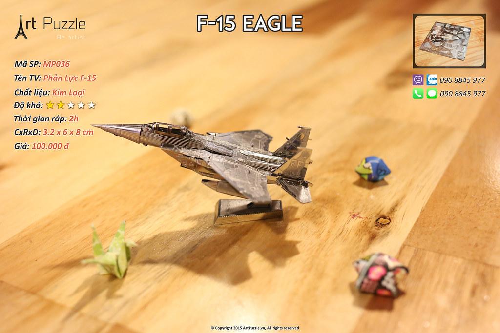 Art Puzzle - Chuyên mô hình kim loại (kiến trúc, tàu, xe tăng...) tinh tế và sắc sảo - 25