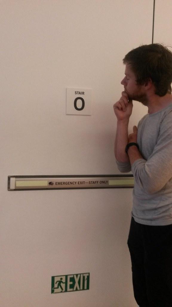 Rob at MOMA, New York City - Free on Friday nights