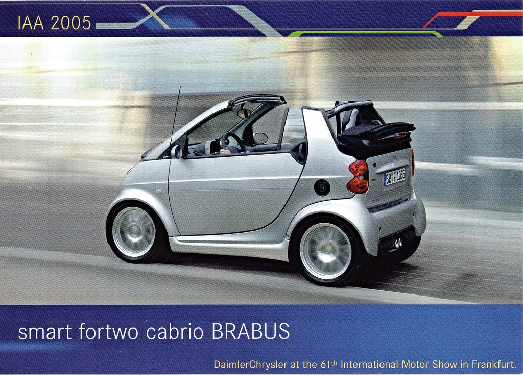 2005 Smart Fortwo Cabrio Brabus Alden Jewell Flickr