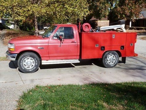 1997 Ford F-250 Heavy Duty service truck | by thornhill3