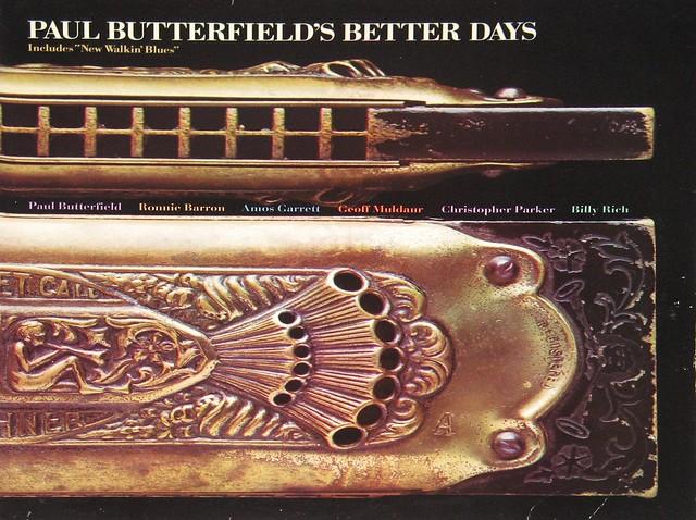"""Paul Butterfield's Better Days Bearsville Rhino +Insert 12"""" vinyl LP"""