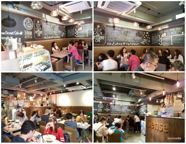 Sense Dessert Cafe interior