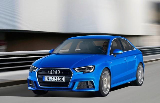 Audi A3 Sedan 2017 1