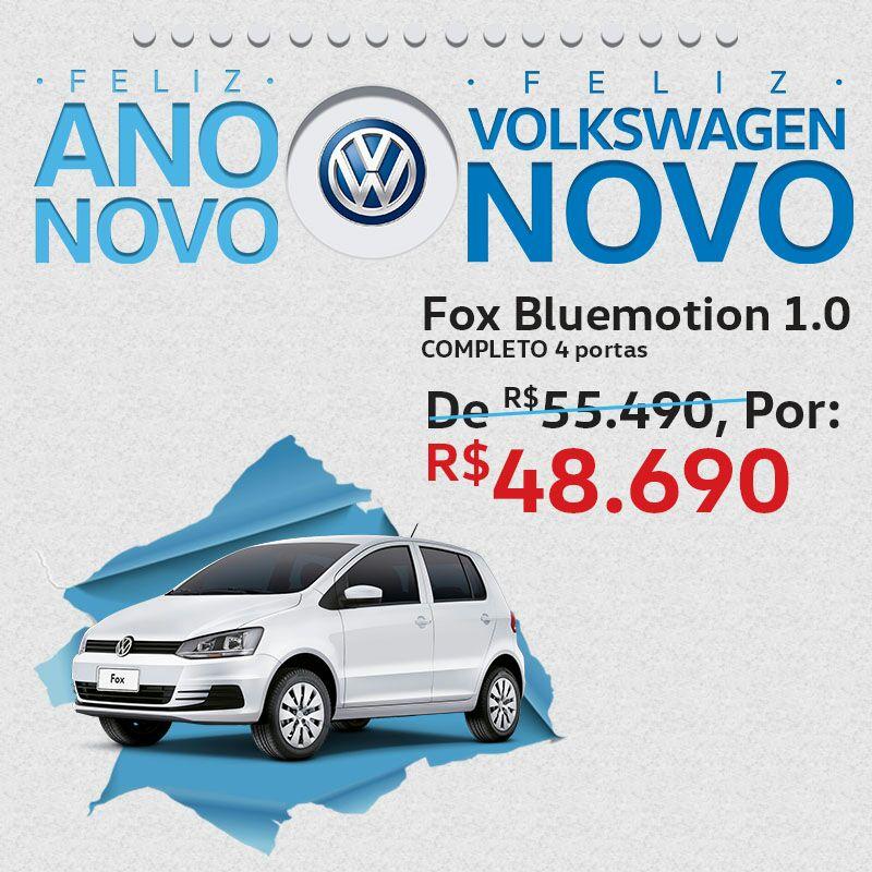 Ano Novo, Volkswagen Novo: promoção de carros 2016/2017 com descontos de até R$ 18.000,00