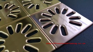 Closeup Shower Grates | by PureGoldPlating