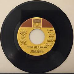 STEVIE WONDER:SUPERSTITION(RECORD SIDE-B)