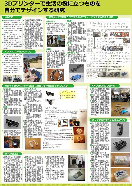 【ブログ用】3Dプリンターで生活の役に立つものを自分でデザインする研究