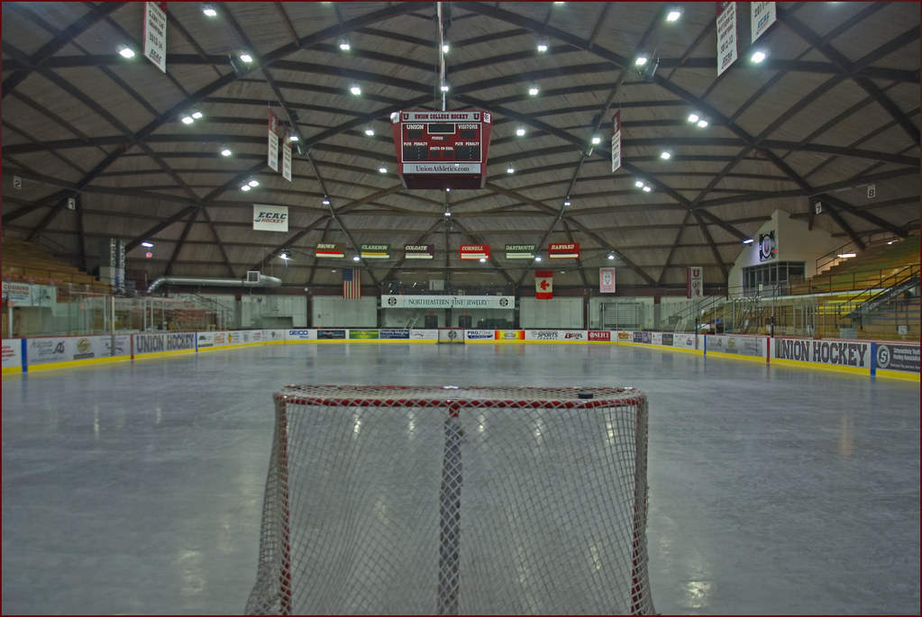 Ice Hockey Arena Union College Schenectady Ny July 20