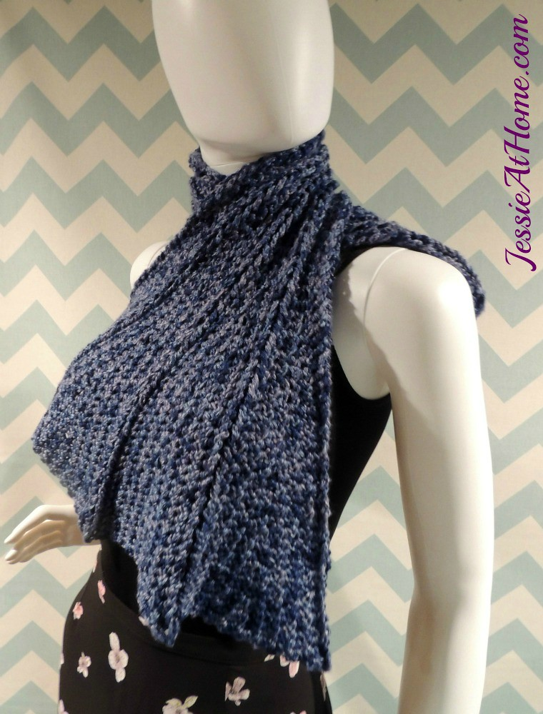 Dragon Wing Scarf Free Crochet Pattern By Jessie At Home 1 Flickr
