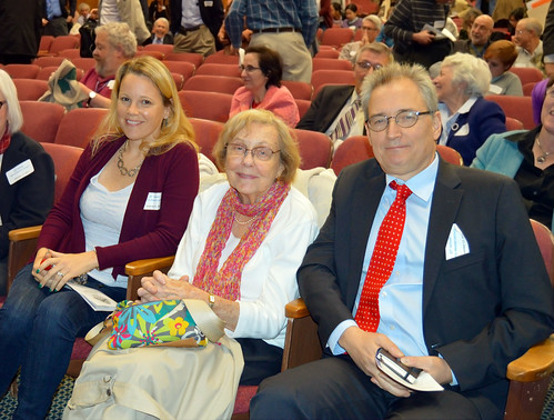 Family members attending the 25th Annual Morris Hansen Lecture