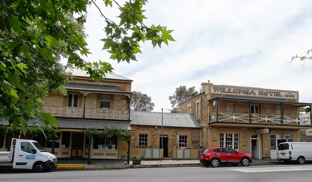 in willunga the hotel on right built in 1868 centre buil flickr