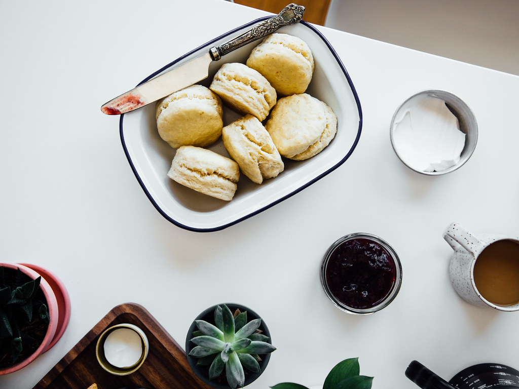 How to make coconut oil biscuits — OLC