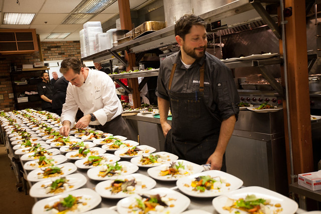 ChefDance with Chefs Brian Malarkey and Shawn McClain During the Sundance Film Festival Day 1 (27)
