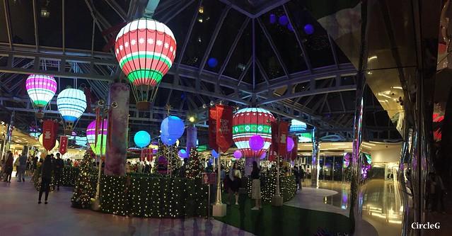 CIRCLEG 香港 太古 鰂魚涌 太古城 TAIKOO Cityplaza 熱氣球 2016聖誕 遊記 聖誕 2016  (12)