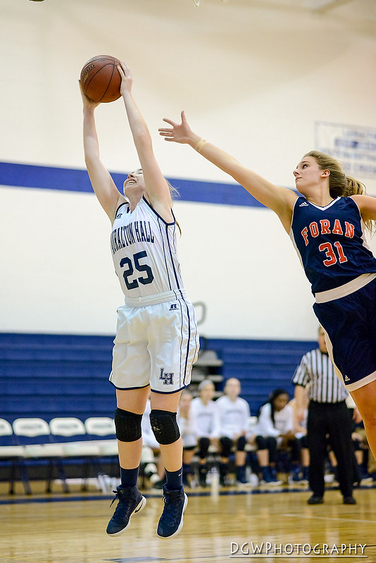 Lauralton Hall vs. Foran High - High School Girls Basketball