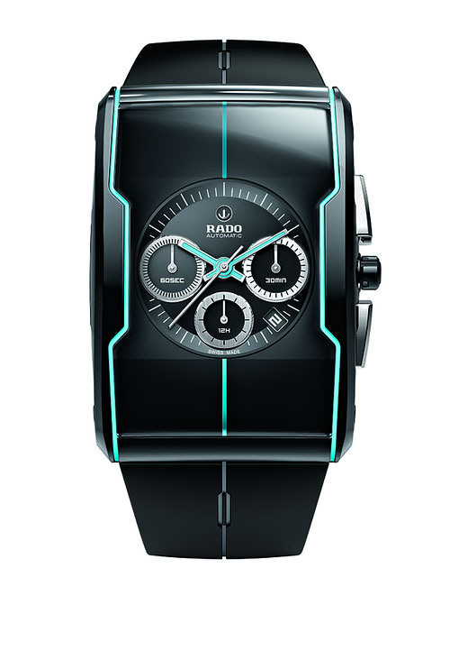 RADO Switzerland Basel, radar table 2012 new R-One series