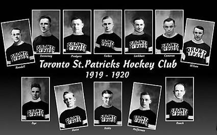 1919-20 Toronto St Patricks team