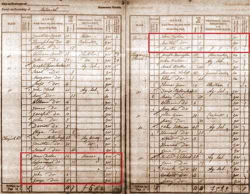 James C b1806 1841 census Meld