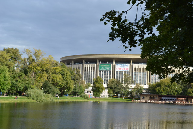 Ekaterininskij park and SK Olimpiskyi