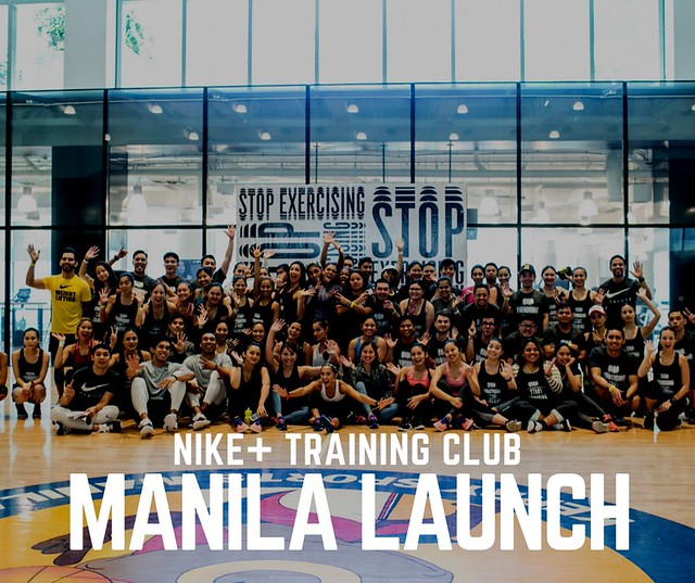Nike Training Club Manila launch