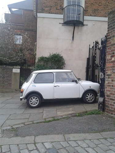 Mini on Highgate High Street