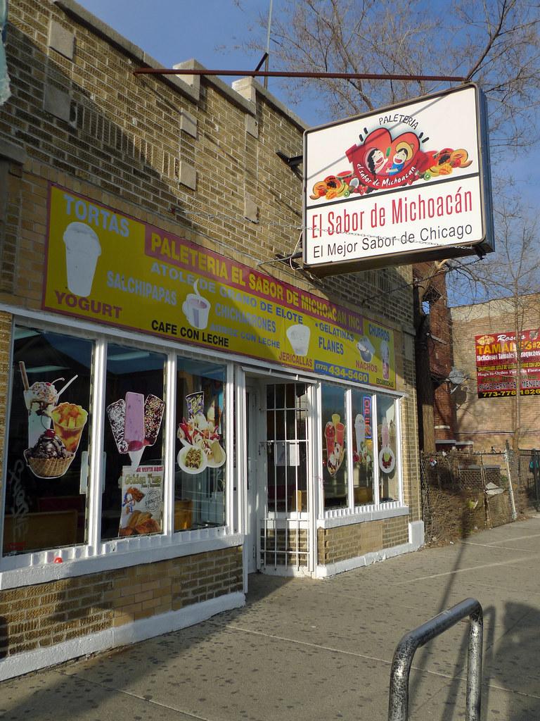 Paleteria El Sabor De Michoacan 3320 W 55th Street Built Flickr