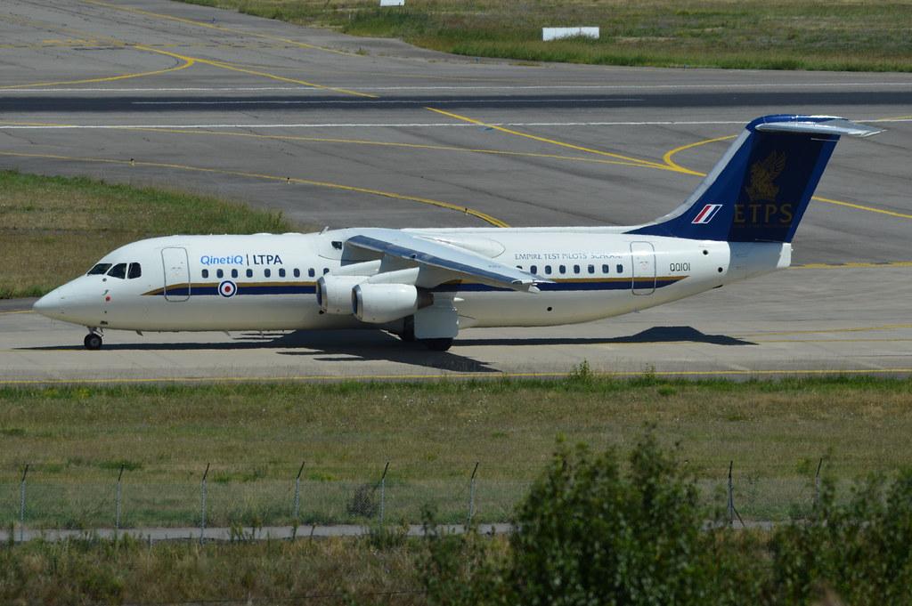 AVRO RJ.100 RAF ETPS QQ101 E3368 25 08 15 TLS | L'AMI DU ...
