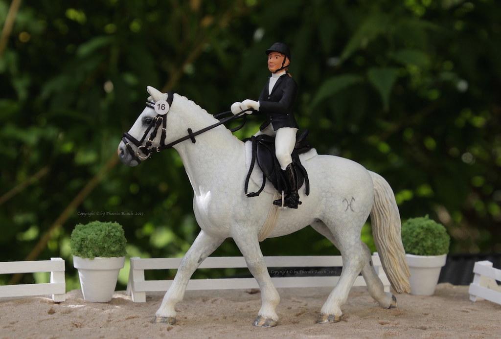 Schleich Dressage Customized Schleich Horse With