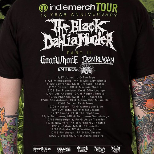 The Black Dahlia Murder at Baltimore Soundstage