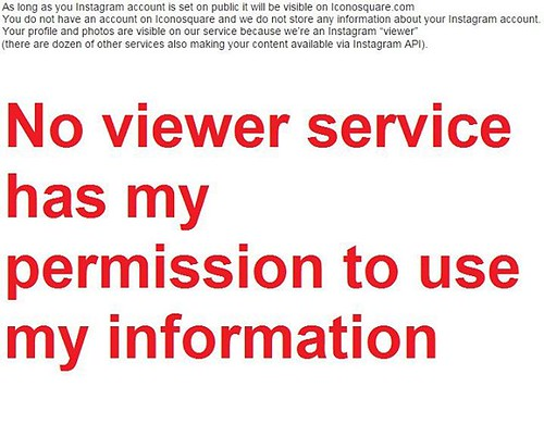 No viewer service has my permission to use my information #JustStopAlready | by KornJen