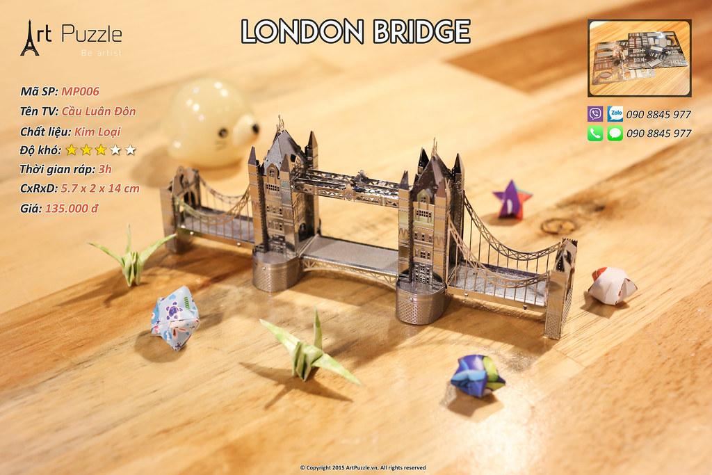 Art Puzzle - Chuyên mô hình kim loại (kiến trúc, tàu, xe tăng...) tinh tế và sắc sảo - 11
