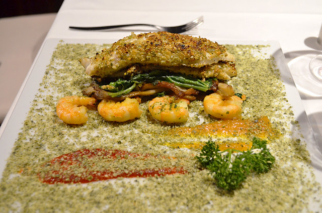 Sea Bass and Prawns, Mirador de Garachico, Garachico, Tenerife