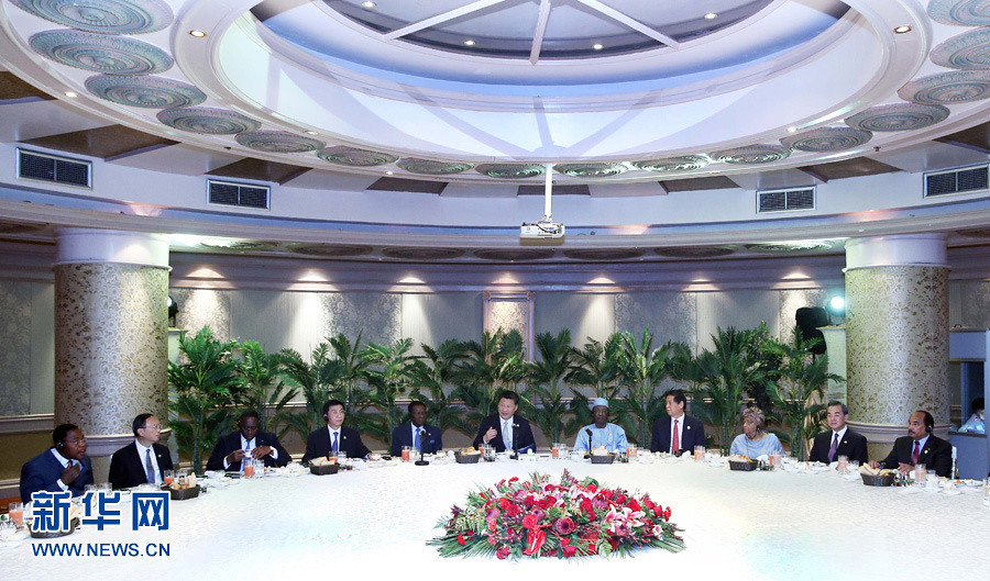 XI Group again met with leaders of some African countries