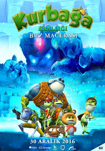 Kurbağa Krallığı: Buz Macerası - Frog Kingdom 2: Sub-Zero Mission (2016)