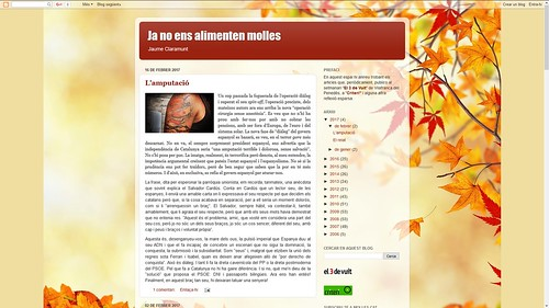 176 - Ja no ens alimenten molles - Jaume Claramunt