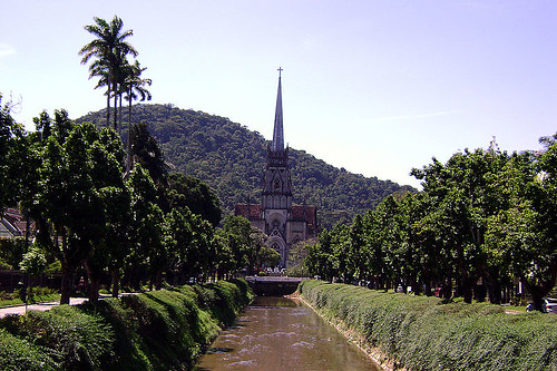 Rio Piabanha em Petrópolis