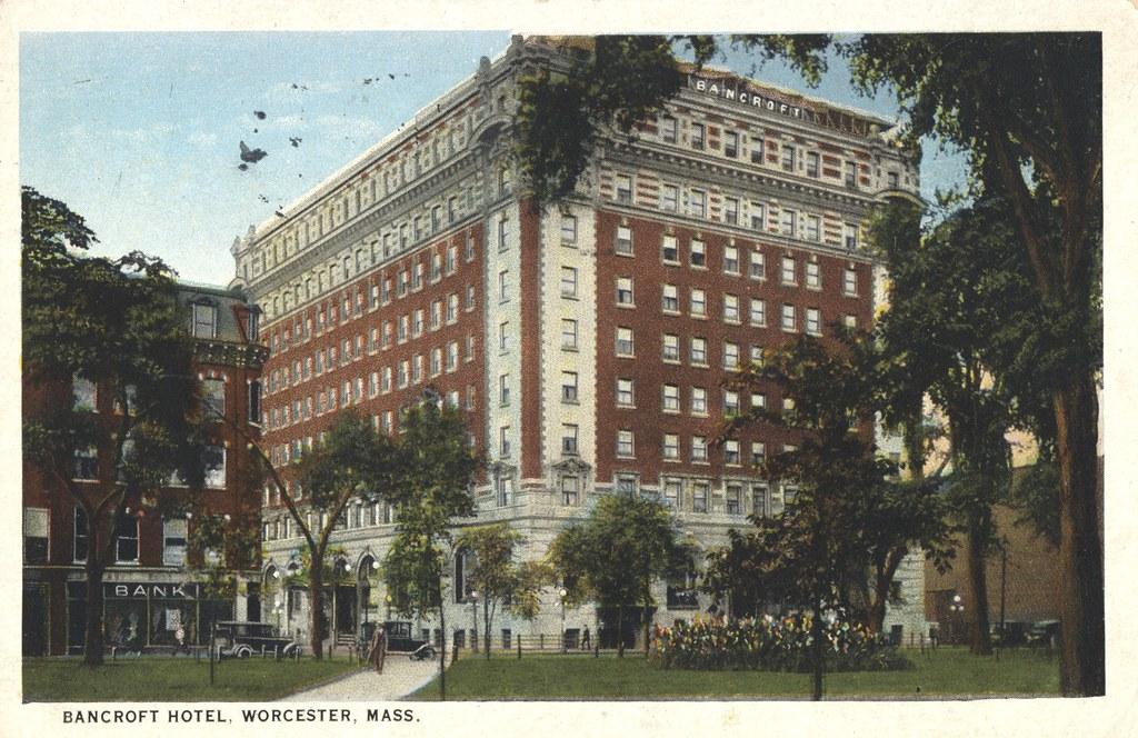 Bancroft Hotel - Worcester, Massachusetts