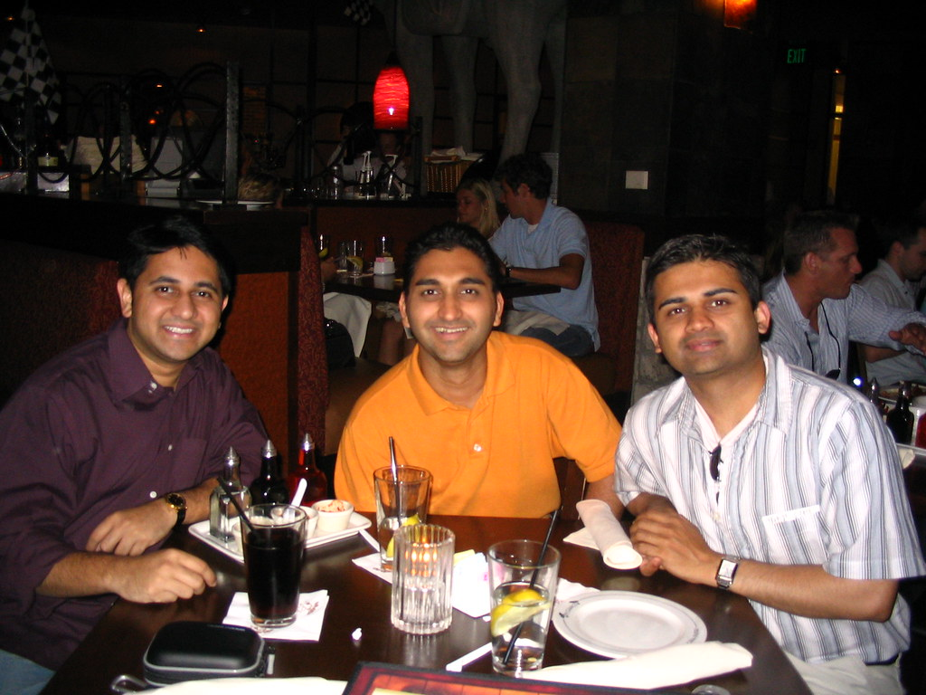 Pe Chang Restaurant L To R Me Amit Amp His Roommate
