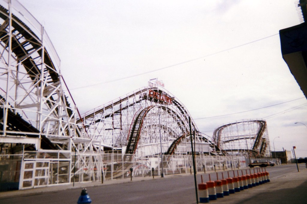 Nyc Brooklyn Coney Island Cyclone Athough It Is Not