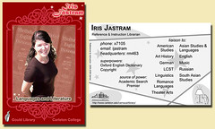 My Trading Card | by Pegasus Librarian