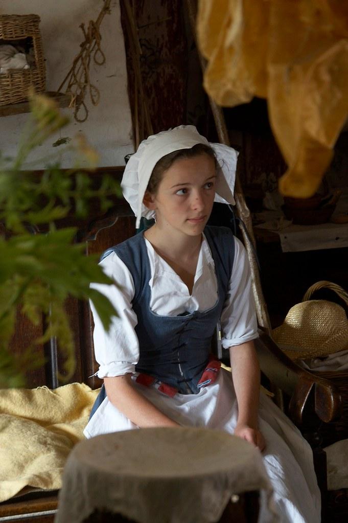 Tudor Maid Kentwell Young Taking