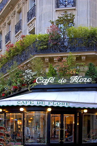 Rita Crane Photography:  Paris / cafe / bistro / Left Bank / Latin Quarter / architecture / Cafe de Flore, Paris | by Rita Crane Photography