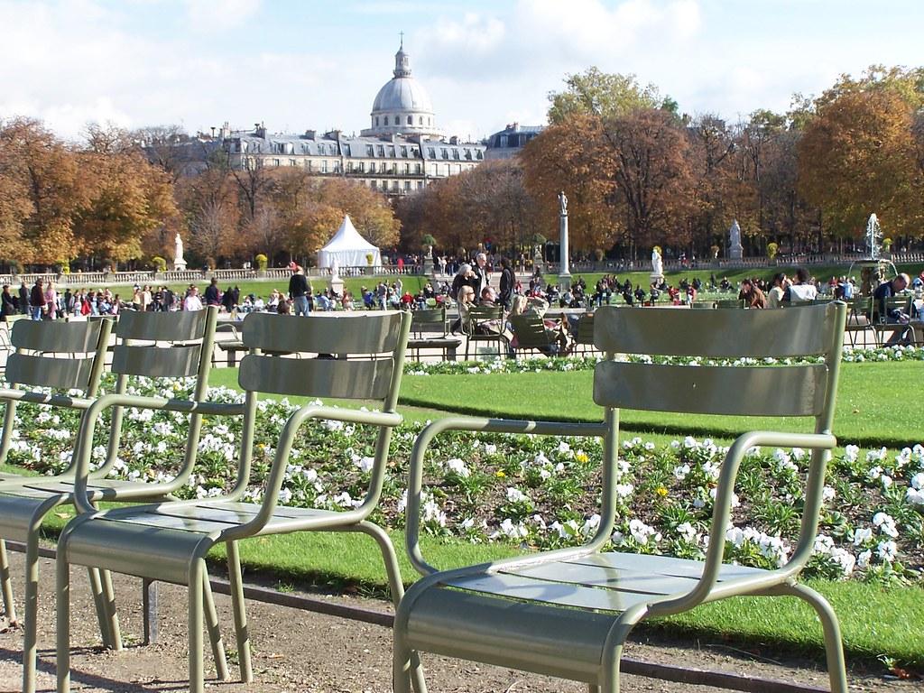 Chaises jardin du luxembourg jef bouquet flickr - Chaise jardin du luxembourg ...