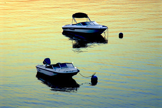 Two Boats at Sunrise | by paulaloe