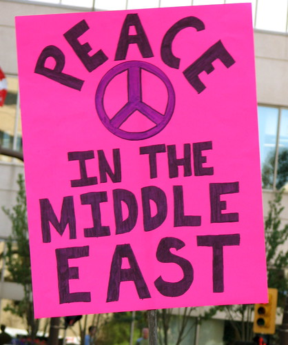 Peace in the Middle East | by Grant Neufeld