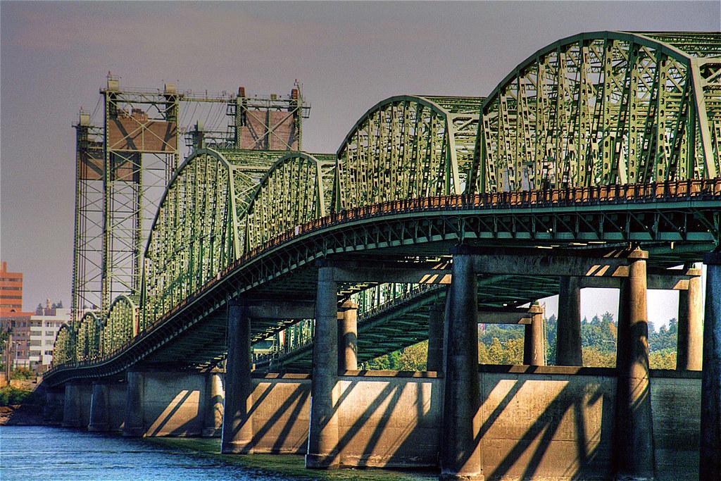 Traffic Light For Sale >> Interstate Bridge, Columbia River, Oregon & Washington | Flickr
