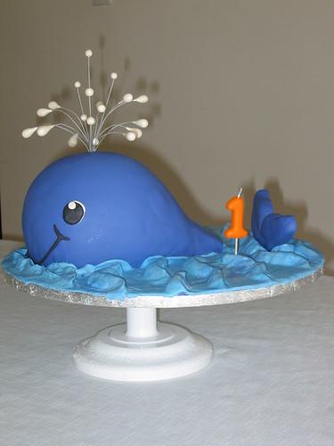How To Make A Whale Shaped Cake